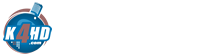 K4HD Logo - #1 Ranked Hollywood Talk Online Radio
