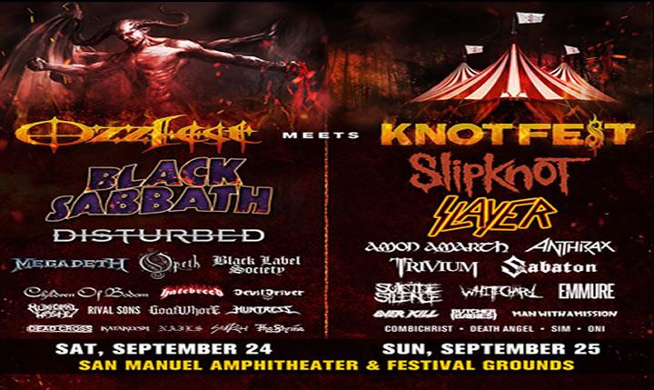 Ozzfest Meets Knotfest Festival
